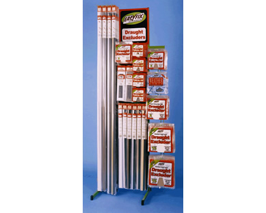 Easyfix draught excluders display stand 2