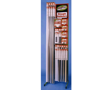 Easyfix draught excluders display stand 1