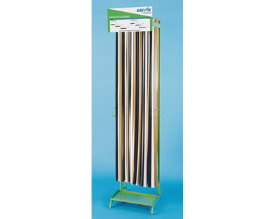 Easyfix plastic edgings display stand
