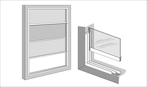 easyfix trackglaze vertical sliding secondary glazing