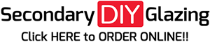 Order secondary glazing easyglaze online from Secondary DIY Glazing